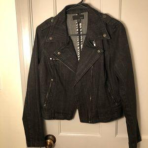 Forever 21 Dark Denim Jacket Size M